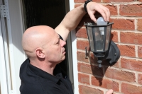 Fitting an outside light
